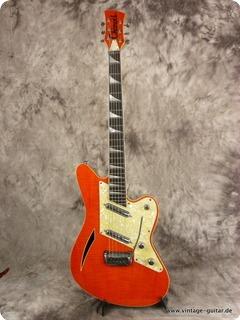Charvel Surfcaster Orange