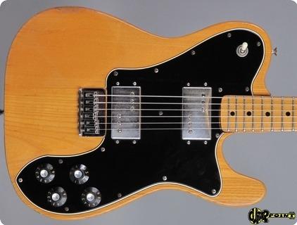 Fender Telecaster Deluxe 1974 Natural
