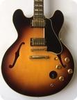 Gibson 59 ES 345 Mono 2014 Vintage Sunburst
