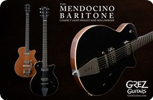 Grez Baritone Mendocino 2018 Black Or Natural
