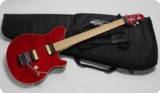 MusicMan Sterling Axis AX 40 2016 Translucent Red