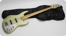 EdwardsESP Jazz Bass 1998 Gold Sparkle