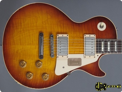 Gibson Les Paul 1958 Aged Reissue 2013 Slow Ice Tea Faded (pearly Gates)