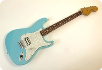Fender Stratocaster Tom Delonge Signature 2002 Daphne Blue