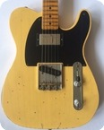 Fender 52 Telecaster Custom Shop Relic 2014 Butterscotch Blonde