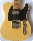 Fender 52 Telecaster Custom Shop Relic 2014 Butterscotch Blonde