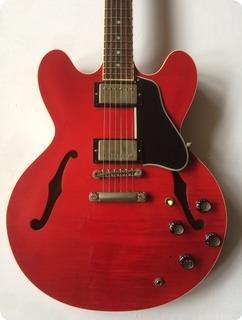 Gibson Es 335 Dot Reissue 2001 Cherry Red