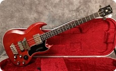 Gibson EB3 1964 Cherry Red