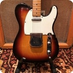 Fender Vintage 1968 Fender Telecaster Sunburst Refin Maple Cap Electric Guitar