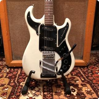Burns Vintage 1960s Baldwin Hank Marvin By Burns Signature White Guitar