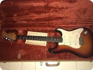 Fender 35th Anniversary Stratocaster 1989 Sunburst