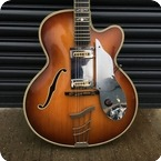 Hofner Committee With Floating Pickup 1959 Brunette
