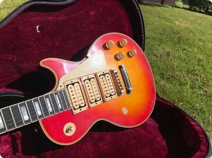 Gibson Custom Shop Ace Frehley Kiss Budokan Les Paul 2011 Cherry Sunburst