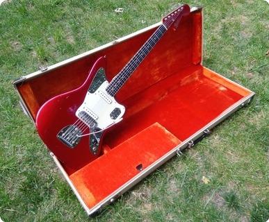Fender Jaguar 1963 Candy Apple Red