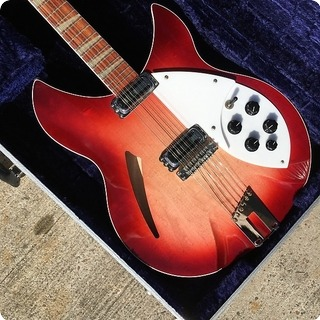 Rickenbacker 360 12v64 Mcguinn George Harrison Tom Petty Fireglo