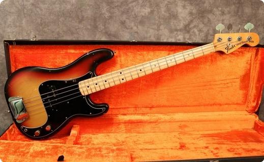 Fender Precision 1974 Sunburst