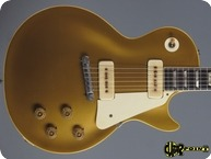 Gibson Les Paul Standard Goldtop 1954 All Gold