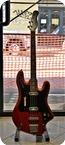 Ellisound Crucianelli Bass 1963 Red Perlinato
