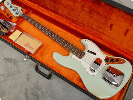 Fender Jazz Bass 1965 Sonic Blue