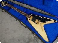 Gibson Flying V Korina 1983 Ivory