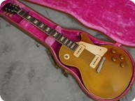 Gibson Les Paul Standard Goldtop 1953 Gold