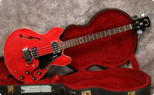 Gibson Eb2dc 1968 Cherry Red