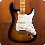 Fender Stratocaster Thinline 2018 Two Tone Sunburst
