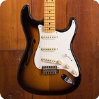 Fender Stratocaster Thinline 2018 Two Tone Sunburst