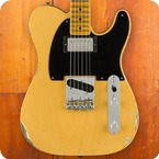 Fender Custom Shop-Telecaster-2018-Aged Nocaster Blonde