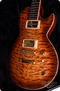 Brian Moore Custom Shop Dc1 Quilt Flame Single Cut Lp 1999