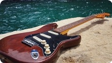 Fender Fender Stratocaster Hard Tail 1976 USA 1976 Cellulose Mocha Brown