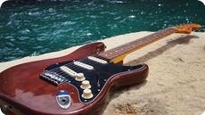 Fender Fender Stratocaster Hard Tail 1976 USA 1976 Cellulose Mocha Brown