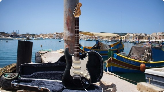 Fender Stratocaster Deluxe 1994  Charcoal Metallic