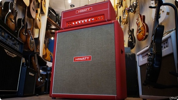 Hiwatt Hiwatt Custom 100 Dr 103 Red | Head & Cab 2000 Red Tolex