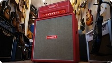 Hiwatt Hiwatt Custom 100 DR 103 Red Head Cab 2000 Red Tolex