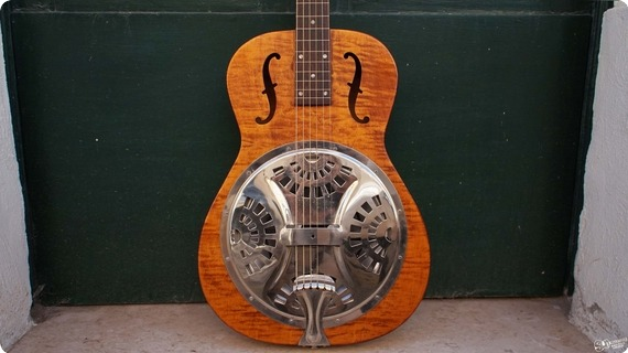 Gibson Hound Dog Resonator Lap Steel | Usa Natural