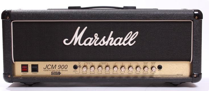 Marshall Jcm900 100w Model 4100 1994 Black