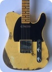 Fender 52 Telecaster Custom Shop Heavy Relic 2017 Blonde Blackguard