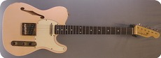 Real Guitars Thinline 2018 Shell Pink