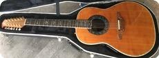 Ovation Guitars Custom Legend 1759 4 12 String 1998 Natural