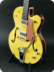 Gretsch Guitars-G6118T 120th Anniversary-2003-Bamboo Yellow