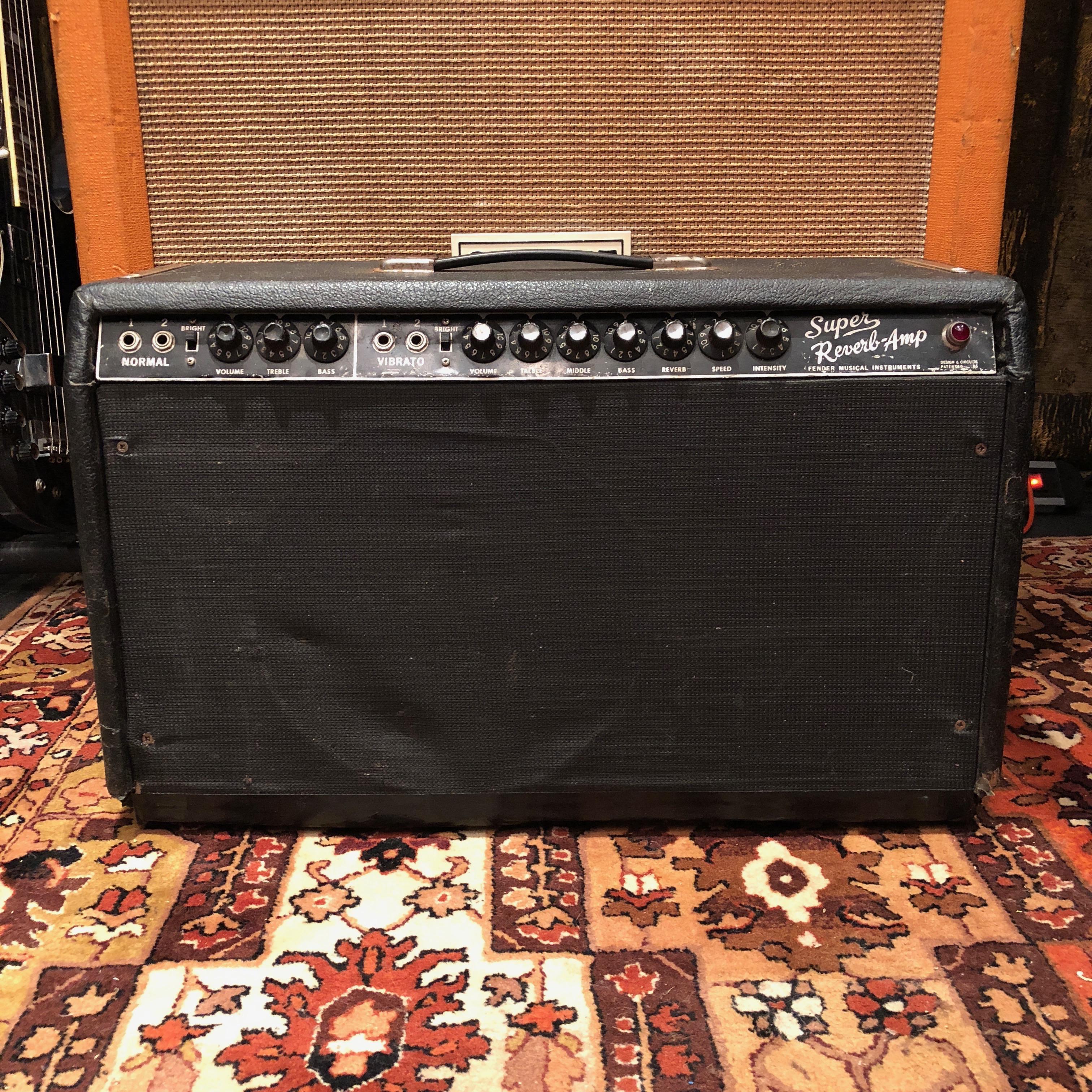 fender super reverb amp serial numbers