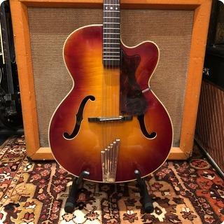 Hofner Vintage 1965 Hofner Senator Type 66 Cherry Sunburst Guitar 4.3lbs