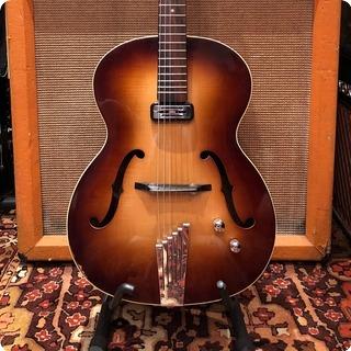 Hofner Vintage 1962 Hofner Congress Brunette E1 Electric Guitar 4.3lbs