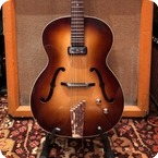 Hofner Vintage 1962 Hofner Congress Brunette E1 Electric Guitar 4.3lbs