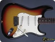 Fender Stratocaster 1971 3 tone Sunburst