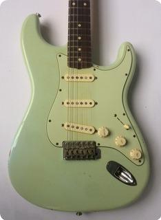 Fender '60 Stratocaster Custom Shop Relic 2003 Faded Sonic Blue