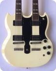 Gibson Steve Clark Def Leppard EDS 1275 Double Neck 1987 White