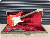 Fender Stratocaster 1963 Custom Colour Fiesta Red