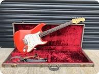 Fender Stratocaster 1963 Custom Colour Fiesta Red